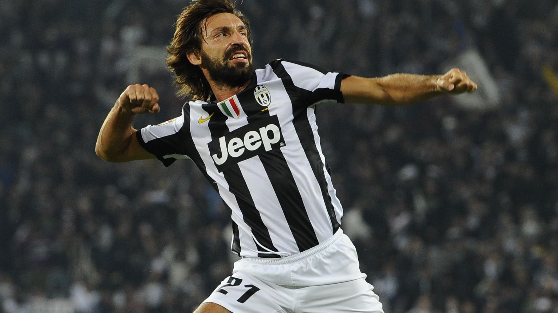 Andrea Pirlo Juventus Squad Numbers