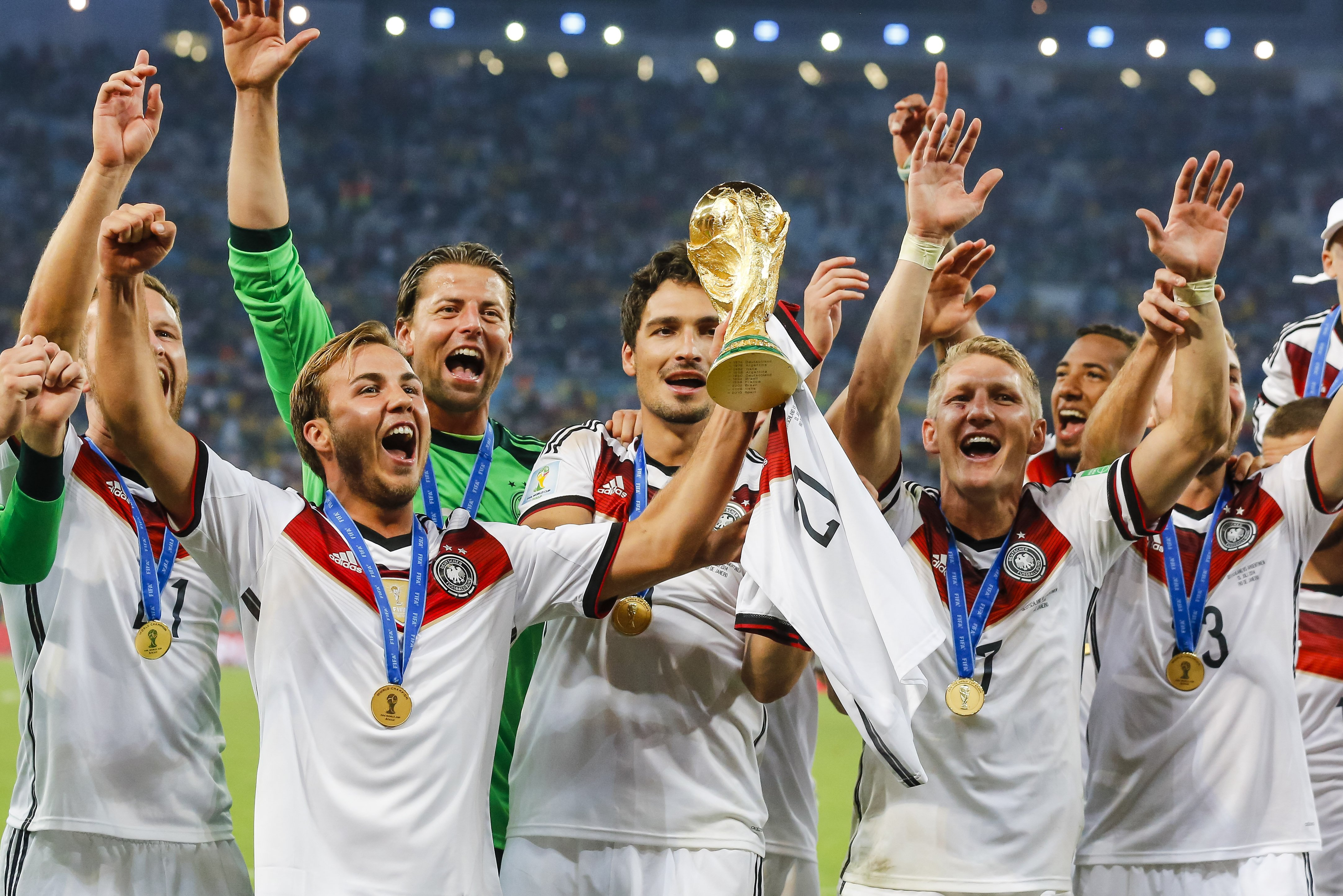 Fussball Wm 2014 Deutschland Ist Fussballweltmeister 2014