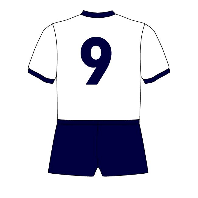 Dimitar Berbatov Tottenham Hotspur 9 01 Squad Numbers